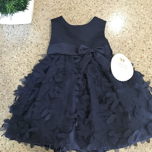 dc5643bb4 American Princess Dresses | Nwt Toddler Girl Navy Blue Party Dress ...